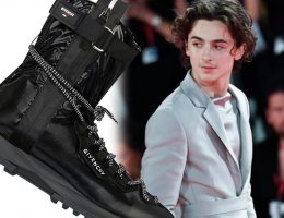 THIMOTHEE CHALAMET ZAPATILLAS GIVENCHY