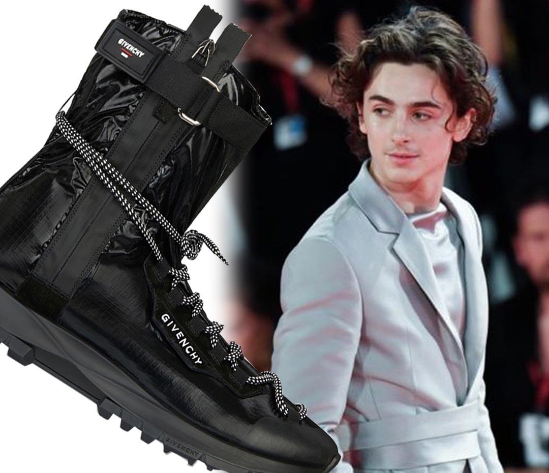 Las nuevas zapatillas de Givenchy que Thimothée Chalamet quiere tener