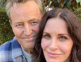 FRIENDS MATTHEW PERRY IG COURTNEY COX