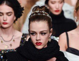 Desfile Dolce Gabbana, colección otoño-invierno 2020 2021