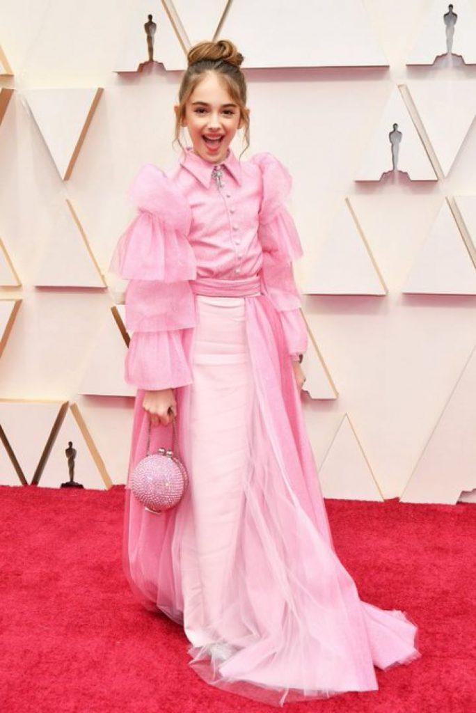 La actriz infantil Julia Buttler en los Oscars por Once Upon a Time in Hollywood Cine
