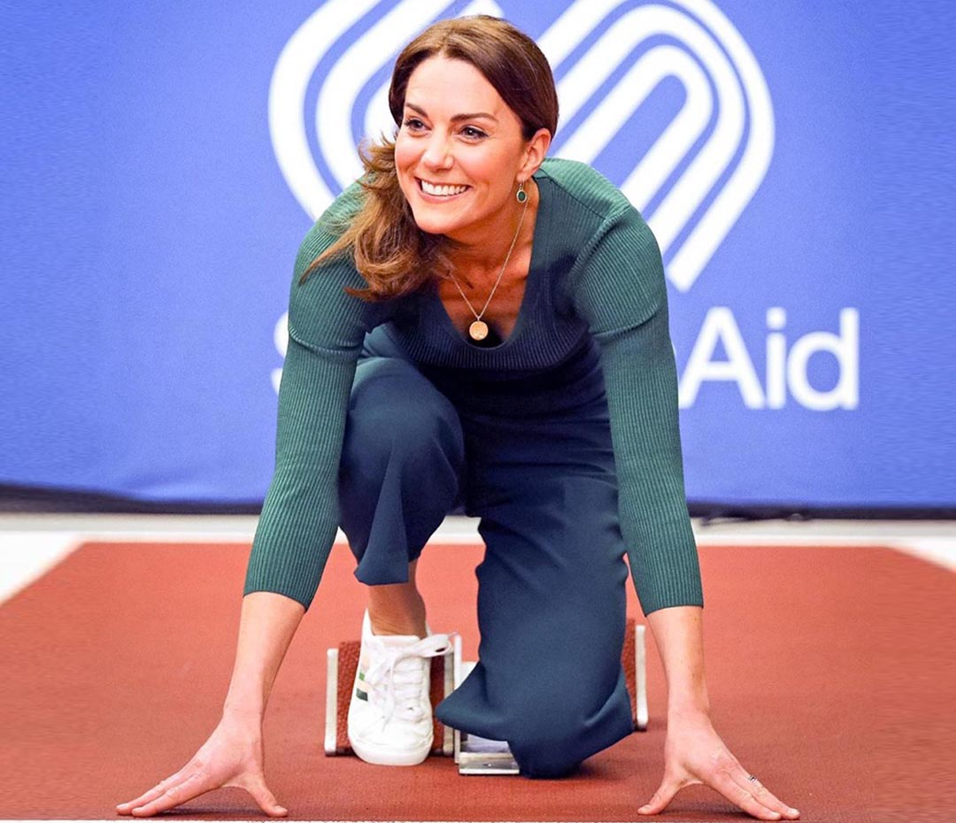 Estas son las zapatillas favoritas de Kate Middleton (¡las queremos!)