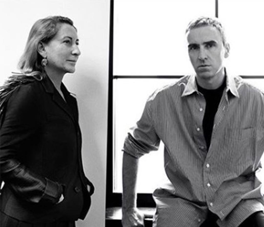 La dupla soñada: Miuccia Prada + Raff Simmons ahora trabajan juntos