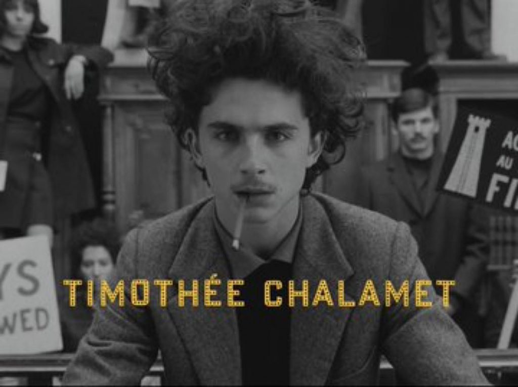 THE FRENCH DISPATCH thimothee chalamet