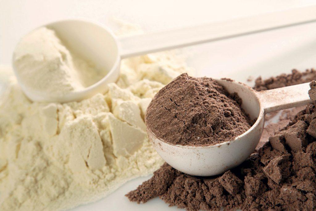 Hay proteína de soja, de huevo, caseína y Whey Protein. Foto: 123rf.