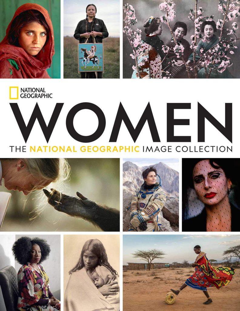 """El libro """"Women: The National Geographic Image Collection"""" (Mujeres: La colección de imágenes de National Geographic) ."""
