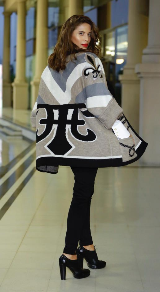 El desfile de Adriana Costantini fue la apertura de una nueva edición de Argentina Fashion Week.
