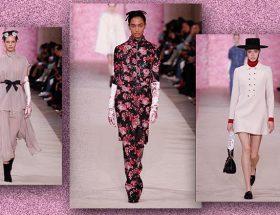 Desfile de moda Giambattista Valli Colección otoño invierno 2020 2021 durante la Semana de la Moda de París.