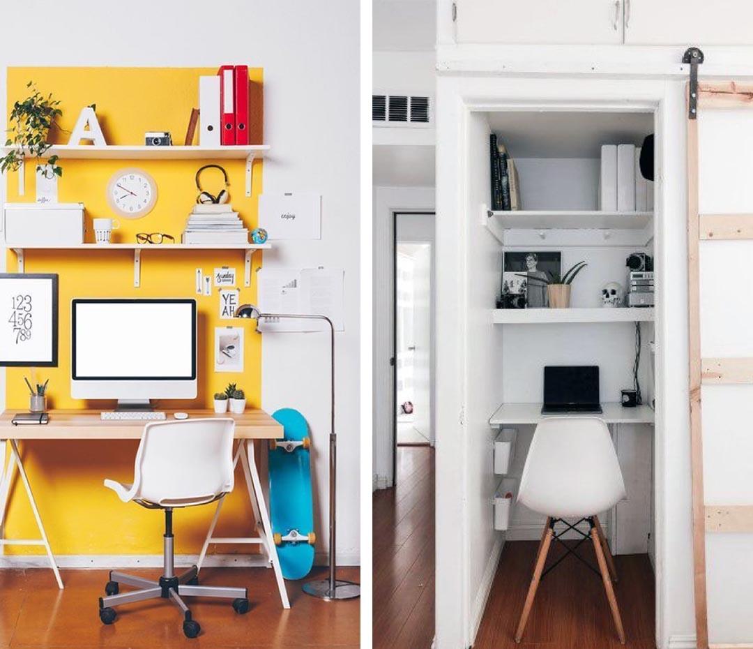 16 propuestas para hacer más confortable tu home office