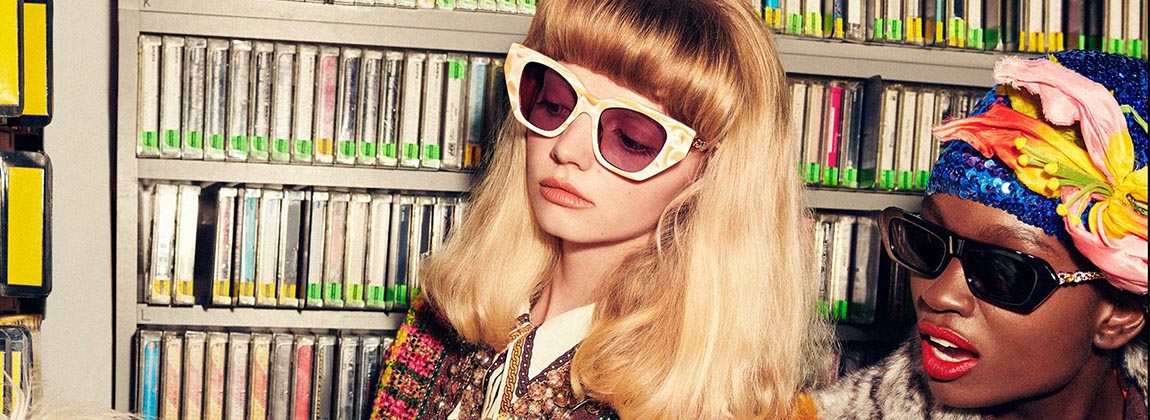 Los nuevos anteojos de Gucci (para verte mejor)