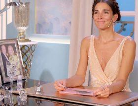 Juana Viale peinada como Princesa Leia
