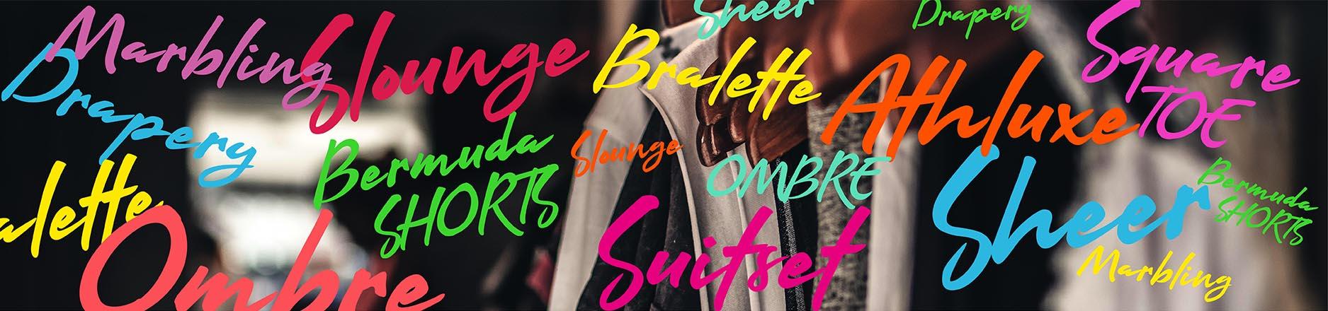 Las 10 nuevas palabras del mundo fashion que más vas escuchar en 2020 (y que tenés que conocer porque hablan de las tendencias)