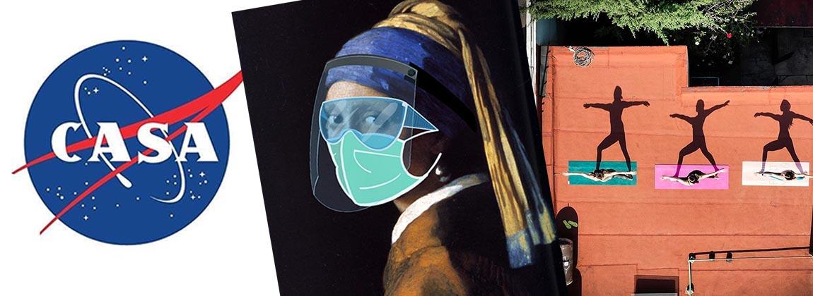 Las mejores imágenes del Museo de Arte del Covid (CAM)