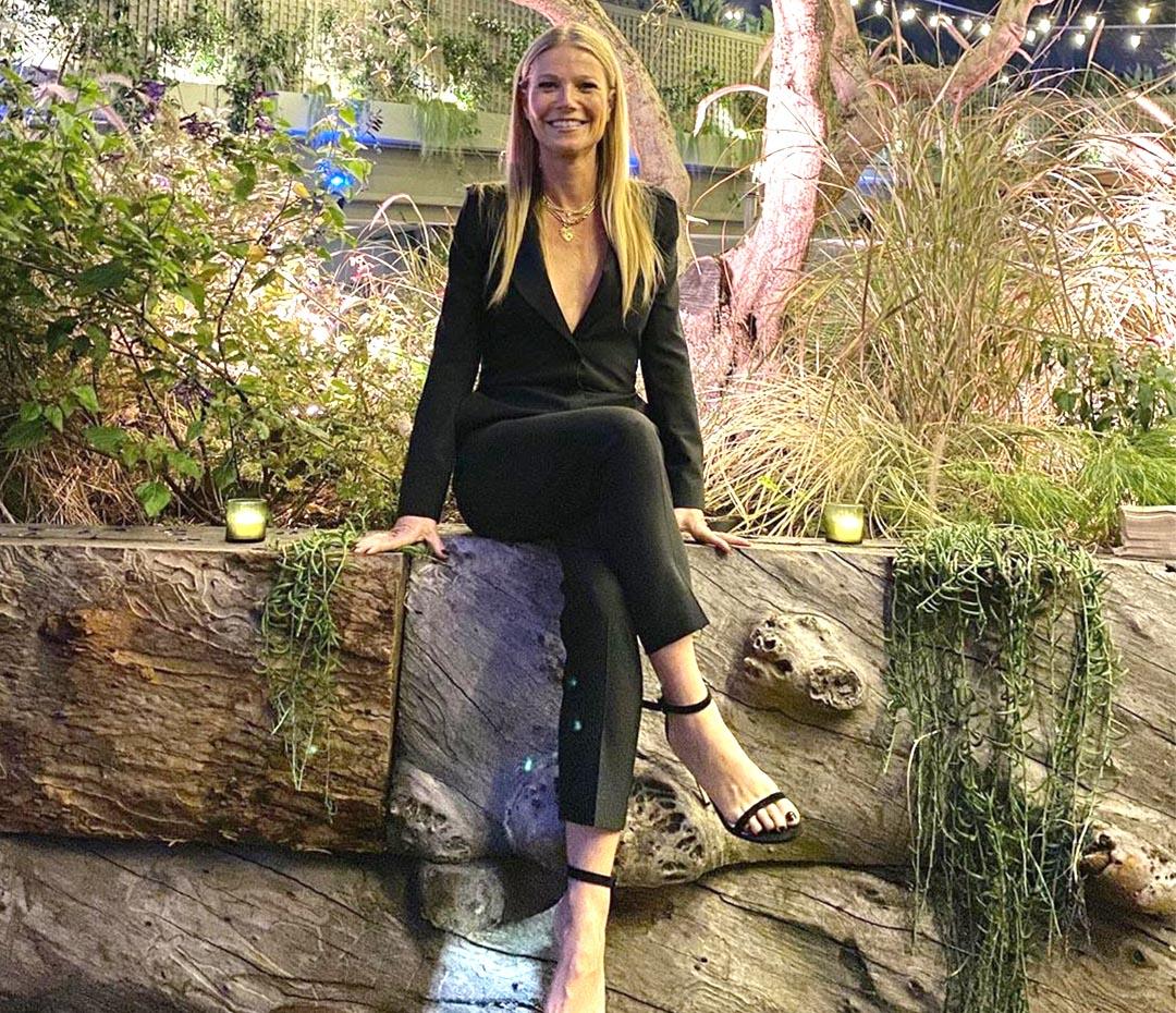 La sexy y atrevida manera de Gwyneth Paltrow de llevar un traje