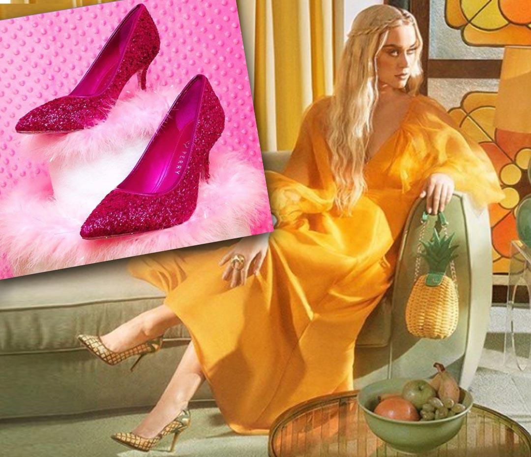 Katy Perry lanza zapatos y carteras contra el coronavirus y para ayudar a los más chicos