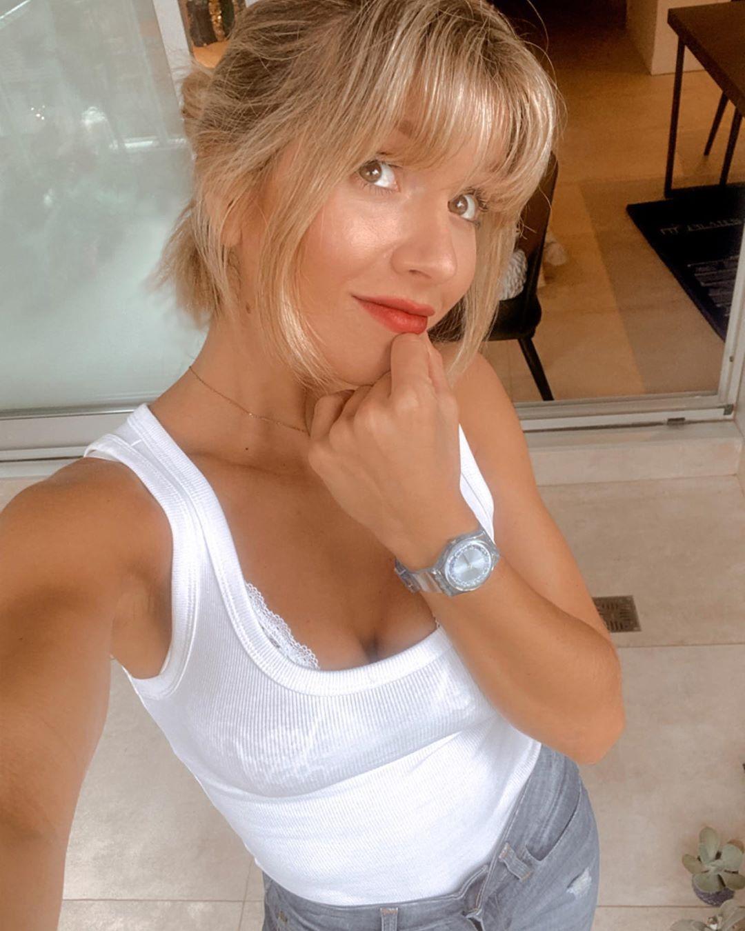¿Qué hace Laurita Fernández en cuarentena?