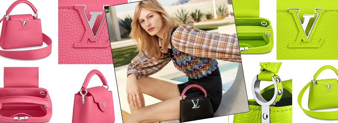 Louis Vuitton enamora con la cartera Capucine 2020