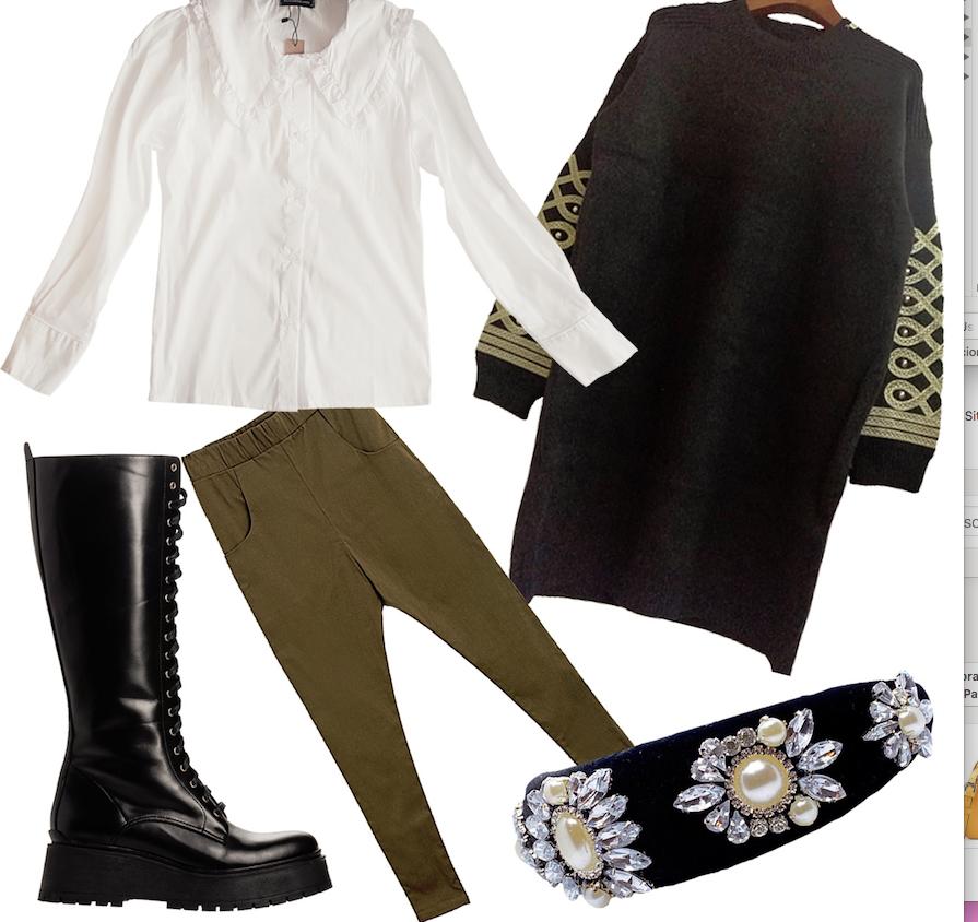 Como armar el look militar chic del otoño-invierno 2020
