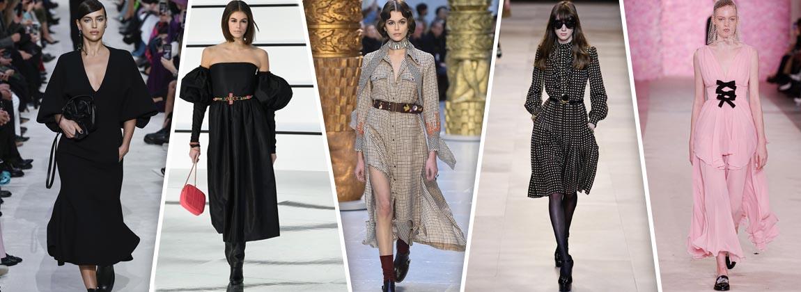 Un desfile con los mejores vestidos del invierno 2020