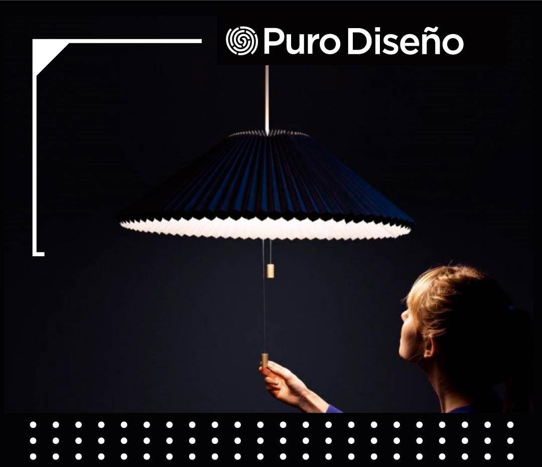 4 lámparas de diseño súper innovadoras: la creatividad