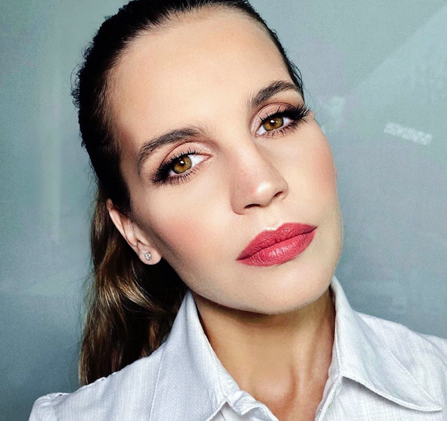 Paso a paso, el make up de Sabrina Garciarena