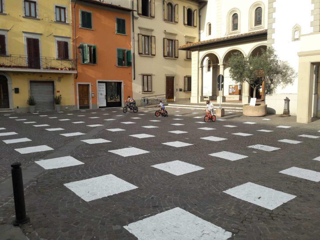 Piazza Giotto de Vicchio. Proyectos innovadores para chicos. Covid 19