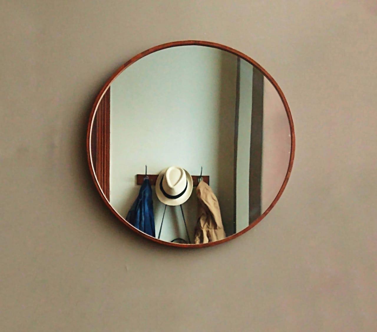 El espejo redondo es tendencia deco ¡en todas partes!: ideas y modelos para elegirlo