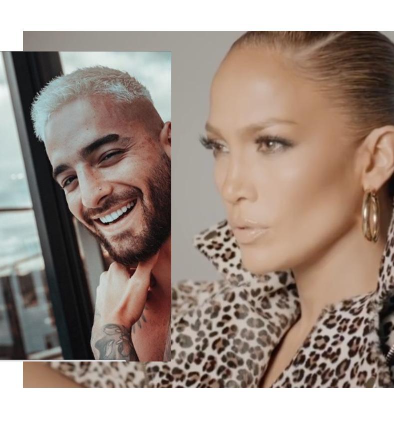 Jennifer Lopez y Maluma preparan una canción juntos