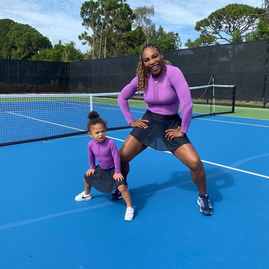 Serena Williams y Olympia: la dupla madre e hija más adorablemente top de las redes sociales