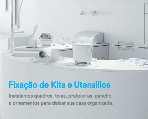 Fixação de Kits e Utensílios