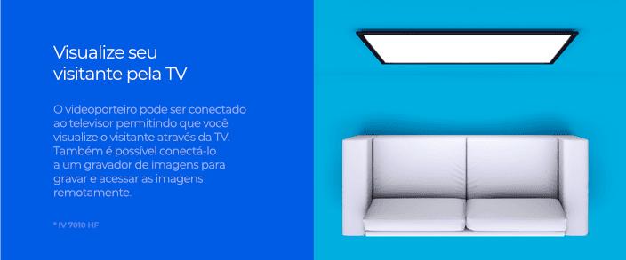Visualize seu visitante pela TV