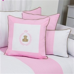 Almofadas Decorativas Teddy Rosa