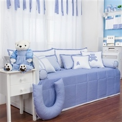 Kit Cama Babá Sweet Bear Azul