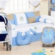 Kit Cama Babá Ursos Divertidos