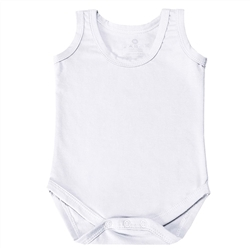 Body Regata Branco 3 a 6 Meses