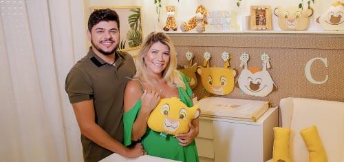 Cristiano, da dupla com Zé Neto, e Paula Vaccari escolhem tendência Disney para o filho caçula - Cristiano e Paula Vaccari
