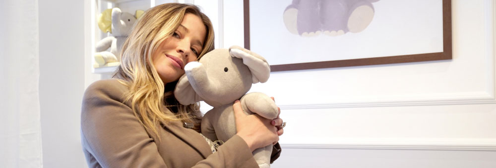 A escolha moderna da atriz Luma Costa para o quartinho do Eduardo