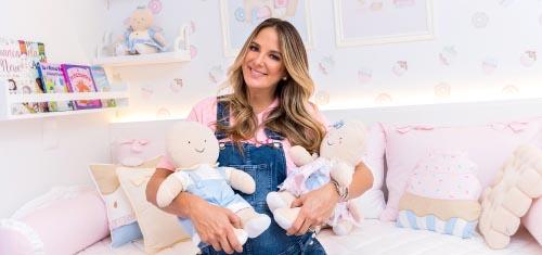 Ticiane Pinheiro escolhe Doce Encanto para Quarto Família Biscoito da Manu - Ticiane Pinheiro