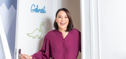 Geovanna Tominaga escolhe tendência Amiguinhos Dino para novo quarto de Gabriel - Geovanna Tominaga