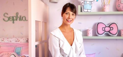 Camila Rodrigues surpreende Sofia com um Quarto Hello Kitty - Camila Rodrigues