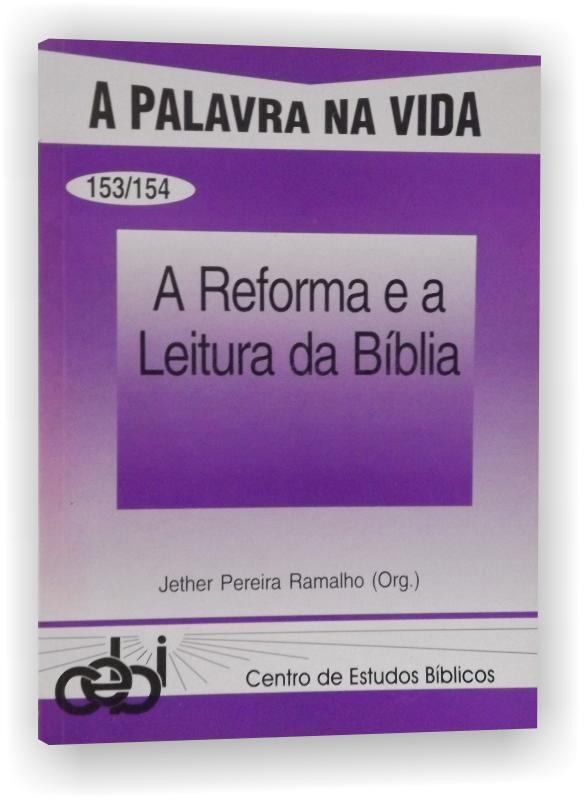 A Reforma e a Leitura da Bíblia apresenta três artigos sobre a Reforma e a leitura da Bíblia e três artigos que consistem em exercícios de releitura da Bíblia a partir da tradição evangélica.