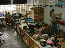 Gráfica do CEBI faz doação para Santa Catarina