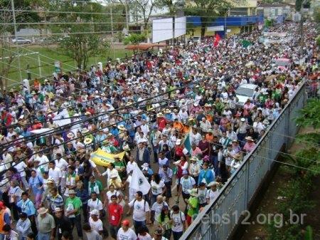 Encerramento do 12º Intereclesial reúne 10 mil participantes