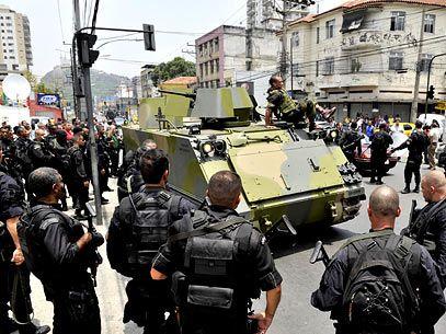Operação de Guerra nas favelas do Rio de Janeiro