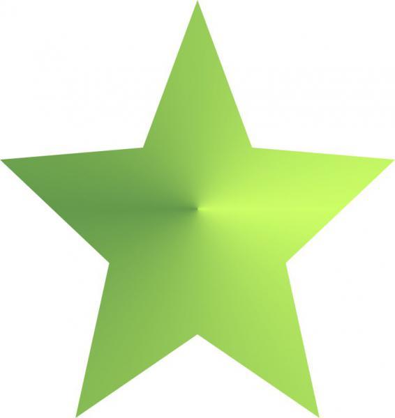 A fábula da estrela verde