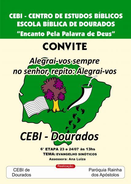CEBI-MS: Evangelhos Sinóticos é tema de Escola Bíblica em Dourados