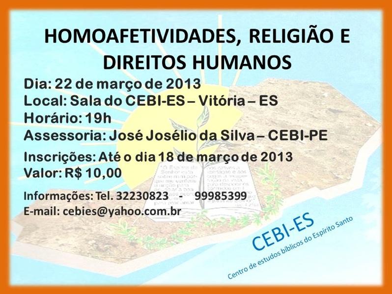 CEBI-ES: Homoafetividades