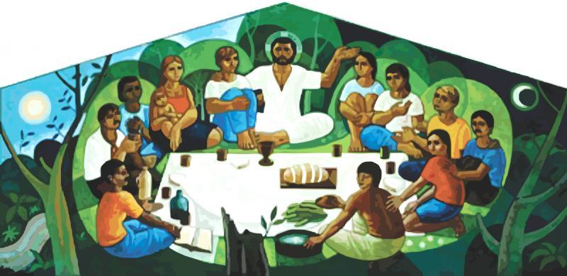Viver em gratidão: sinal da presença do Reino – Lucas 17,11-21  [Carlos Mesters / Mercedes Lopes]