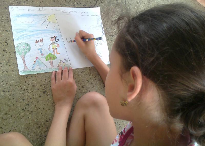"""CEBI-GO: """"Ficar no círculo e ganhar a paz""""  – Escola Bíblica para Crianças"""