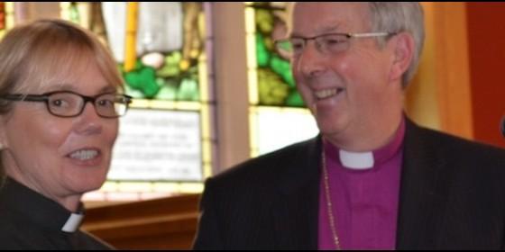 Pat Storey é a primeira bispa da Igreja Anglicana